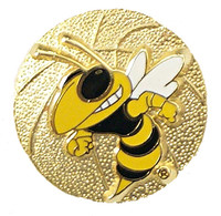 Georgia Tech Basketball Pin