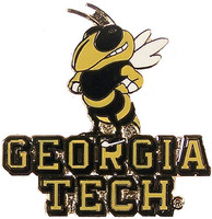 Georgia Tech Mascot Pin