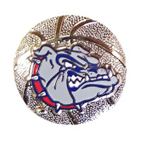 Gonzaga Basketball Pin