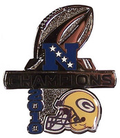 Green Bay Packers 2010 NFC Champions Pin