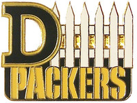 "Green Bay Packers ""D-Fence"" Pin"