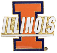 Illinois Logo Pin