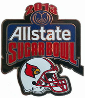 Louisville Cardinals 2013 Allstate Sugar Bowl Pin