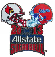 2013 Allstate Sugar Bowl Louisville vs. Florida Pin