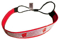Wisconsin Sparkle Head Band