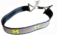 Michigan Sparkle Head Band