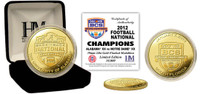 Alabama 2013 BCS National Champions Gold Coin