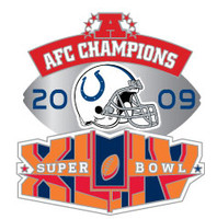 Indianapolis Colts 2009 AFC Champions Pin