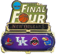 2012 Final Four Dueling Teams Pin