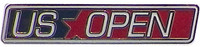 US Open Straight Logo Pin