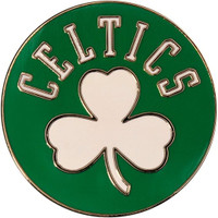 Boston Celtics Shamrock Logo Pin