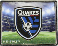 San Jose Earthquakes Logo Pin