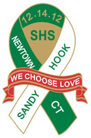 "Sandy Hook / Newtown ""We Choose Love"" - Fundraiser Pin"
