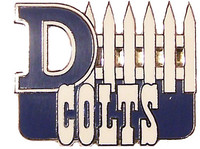 Indianapolis Colts D-Fence Pin