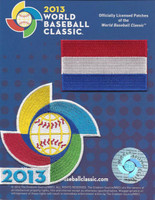 Netherlands 2013 World Baseball Classic 2 Patch Set