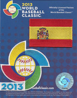 Spain 2013 World Baseball Classic 2 Patch Set