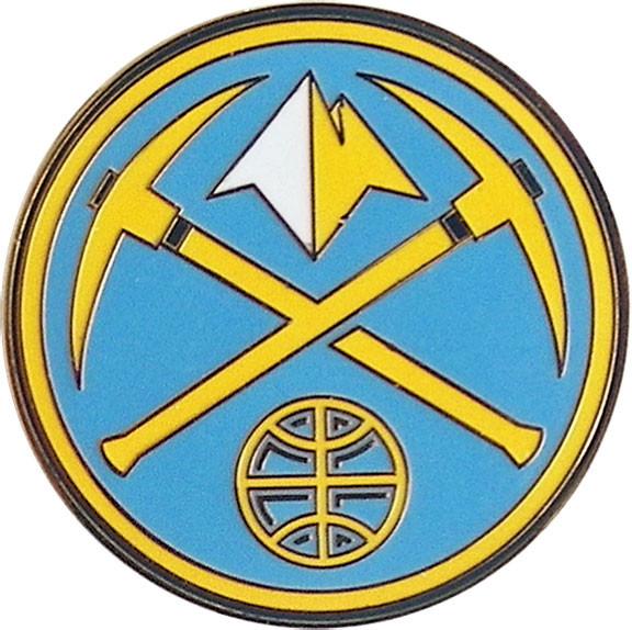 Denver Nuggets: Denver Nuggets Logo Pin