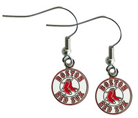 Boston Red Sox Logo Earrings