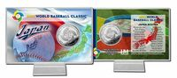 Japan 2013 World Baseball Classic Silver Coin Card