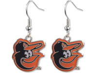 Baltimore Orioles Bird Logo Earrings
