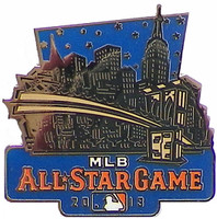2013 MLB All Star Game Skyline Pin