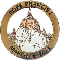 Pope Francis I Commemorative Lapel Pin