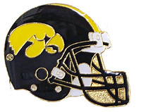 Iowa Hawkeyes Helmet Pin