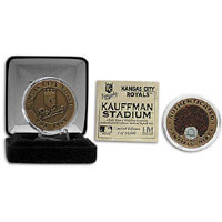 Kansas City Royals Kauffman Stadium Infield Dirt Coin
