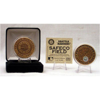 Highland Mint Seattle Mariners Safeco Field Dirt Coin