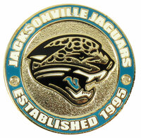 Jacksonville Jaguars Circle Pin - est. 1995