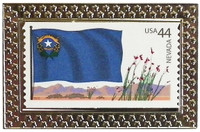 State of Nevada Stamp Pin