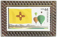 State of New Mexico Stamp Pin