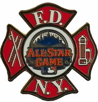 2013 MLB All Star Game FDNY Honorary Pin