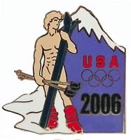 2006 Torino Olympics Da Vinci's David Pin