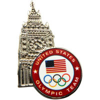 2012 USA Olympic Team Big Ben London Pin