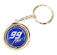 Jeff Burton #99 Spinner Key Chain