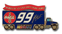 Jeff Burton #99 Trailer Pin