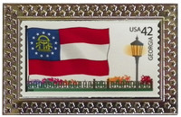 State of Georgia Stamp Pin