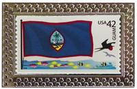 Guam Stamp Pin