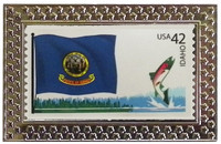 State of Idaho Stamp Pin