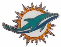 Miami Dolphins Logo Pin