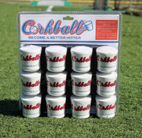 Corkball - Baseball Hitting Drill Starter Dozen