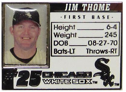Jim Thome Photo ID Pin