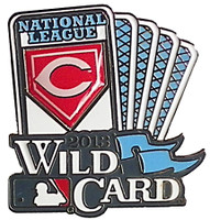 Cincinnati Reds 2013 Wild Card Pin