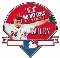 Homer Bailey No Hitter Pin