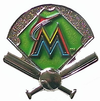 Miami Marlins Field Pin