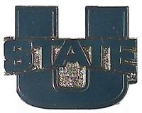 Utah State Logo Pin
