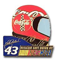 John Andretti #43 Helmet Pin