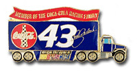 John Andretti #43 Trailer Pin