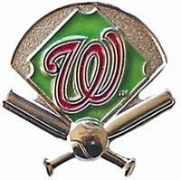 Washington Nationals Field Pin